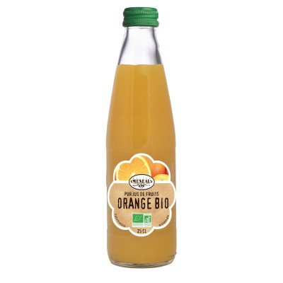 Jus d'Orange BIO - Meneau - 25cl