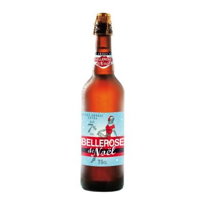Bouteille de bière BELLEROSE NOEL 7°