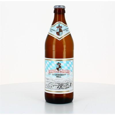 Bouteille de bière TEGERNSEER HELL 4.8° VC20X50CL