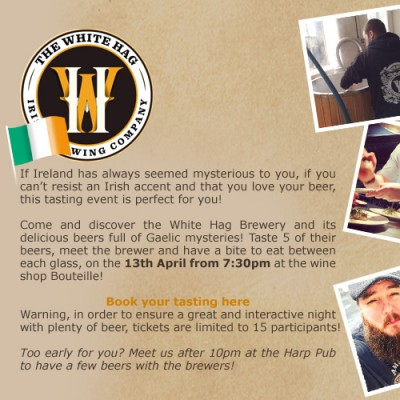 Come and discover the White Hag Brewery and its delicious beers