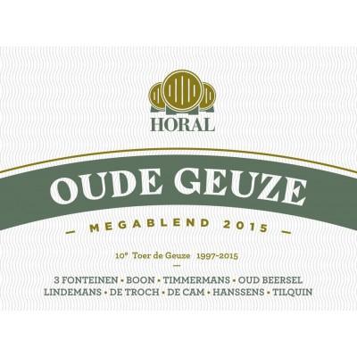 HORAL Mégablend 2015 - Oude Gueuze - 75cl. (Bouteille de bière)