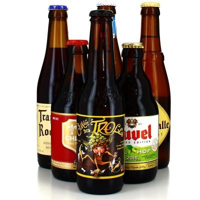 Lot de bières - Tour de Belgique