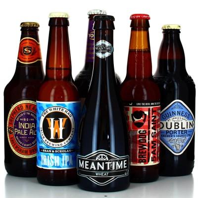 Lot de bières - Virée au Royaume UniLot de bières - Virée au Royaume UniLot de bières - Virée au Royaume Uni