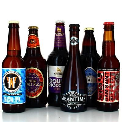 Lot de bières - Virée au Royaume Uni