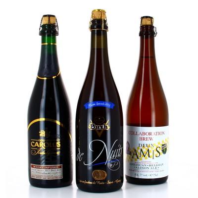 Sélection de bières d'exception - 3 bouteilles 75cl