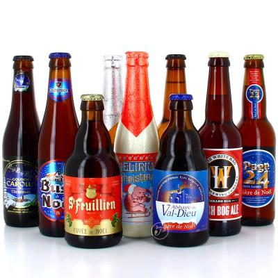 Lot de bières de Noël - 2 x 12 bouteilles à partager