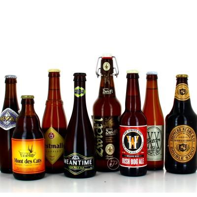 Sélection de 9 bières pour accompangé une raclette (Bouteille de bière)