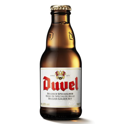 Bouteille de bière Mini Duvel 18cl