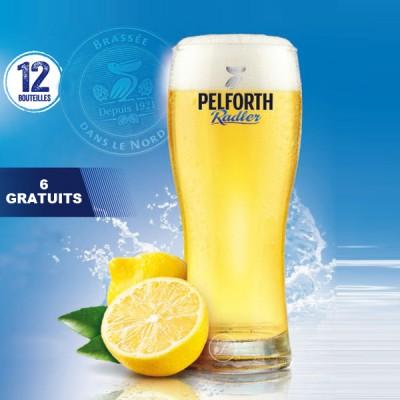 Verre à bière Pelforth Radler