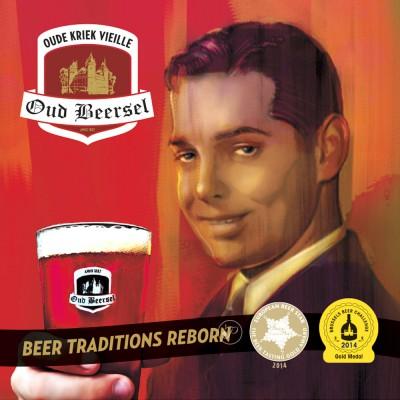 Bière Oud Beersel - Oude Kriek - 37.5cl