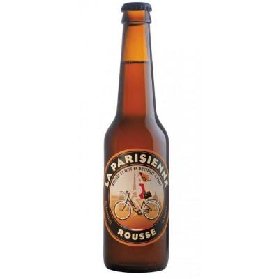 Bouteille de bière La Parisienne rousse 33cl