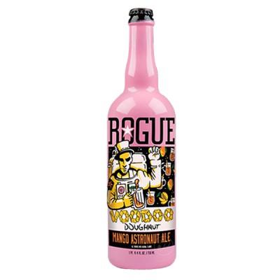 Bouteille de bière ROGUE DOUGHNUT VODOO MANGO ASTRONAUT