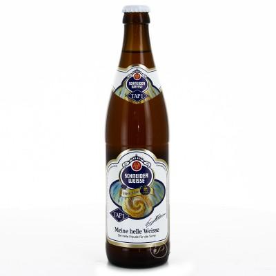 Bouteille de bière SCHNEIDER WEISSHELLES 4.9° TAP1 (Bouteille de bière)