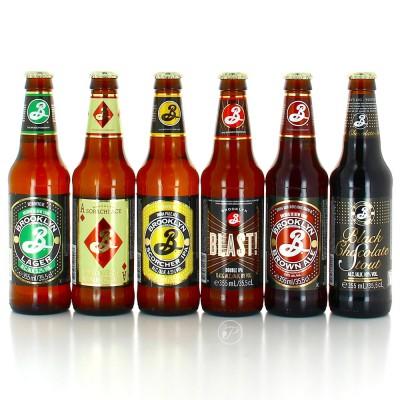 Sélection Brooklyn Brewery - 6 bouteilles (Bouteille de bière)