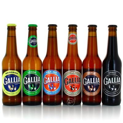 Sélection de la brasserie Gallia - 6 bouteilles 33cl