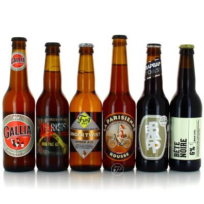 Sélection de bières Parisiennes - 12 bouteilles 33cl