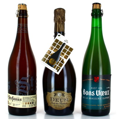 Lot de bières de Fête - 3 bouteilles 75cl