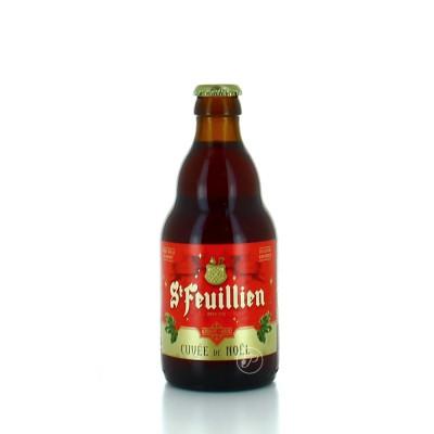 visuel Bière Saint Feuillien Noël 9° (Bouteille de bière)