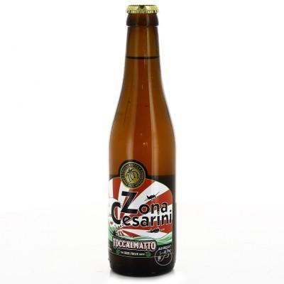 Bière Toccalmatto - Zona Cesarini - 33cl (Bouteille de bière)