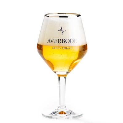 Verre à bière d'abbaye d'averbode