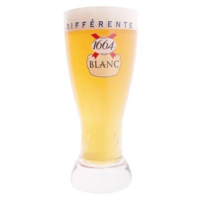 Verre à bière 1664 BLANC 25cl