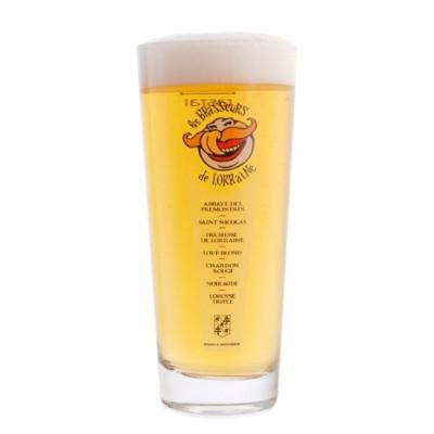 Verre a bière Brasseurs de Lorraine