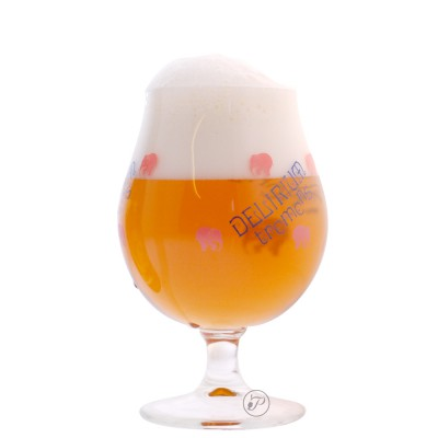 Verre à bière Delirium Tremens 33cl.