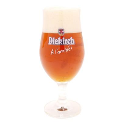 Verre à bière Diekirch Grand CRU 25cl.
