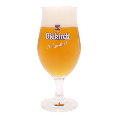Verre à bière Diekirch Premium 25cl.