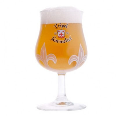 Verre à bière Belge Karmeliet Triple 25cl