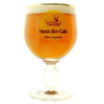 Verre à bière Trappiste Mont des Cats 33cl