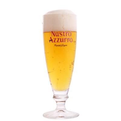 Verre à bière Nastro Azzuro Export Lager 20cl. Perroni