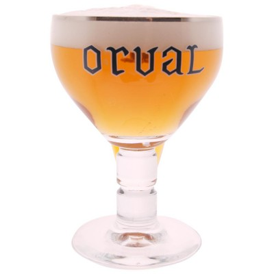 Verre à biere belge Orval 33cl