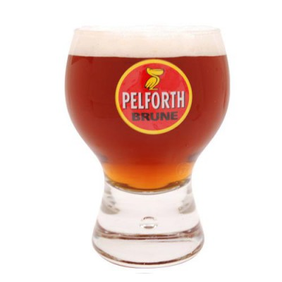 Verre a bière Pelforth Brune 25cl