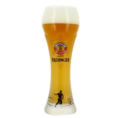 Verre à bière Erdinger édition Euro Foot 2016 50cl.