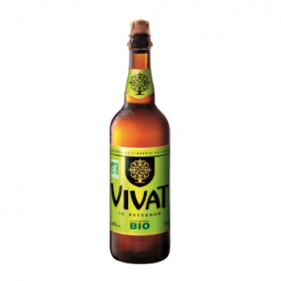 Bouteille Vivat Blonde bio 75cl