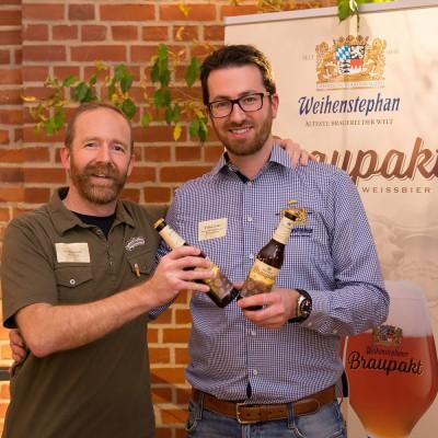 collaboration des deux brasseries Sierra Nevada et Weihenstephan pour la Bière Braupakt