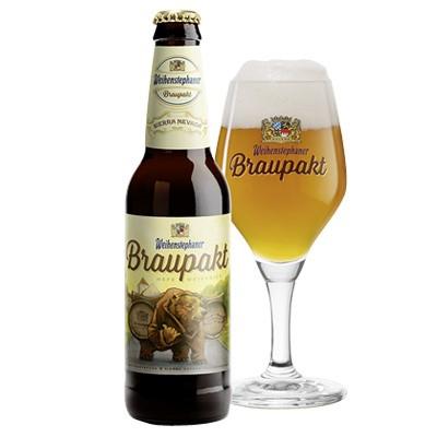 Bière Braupakt - Weihenstephan et Sierra Nevada