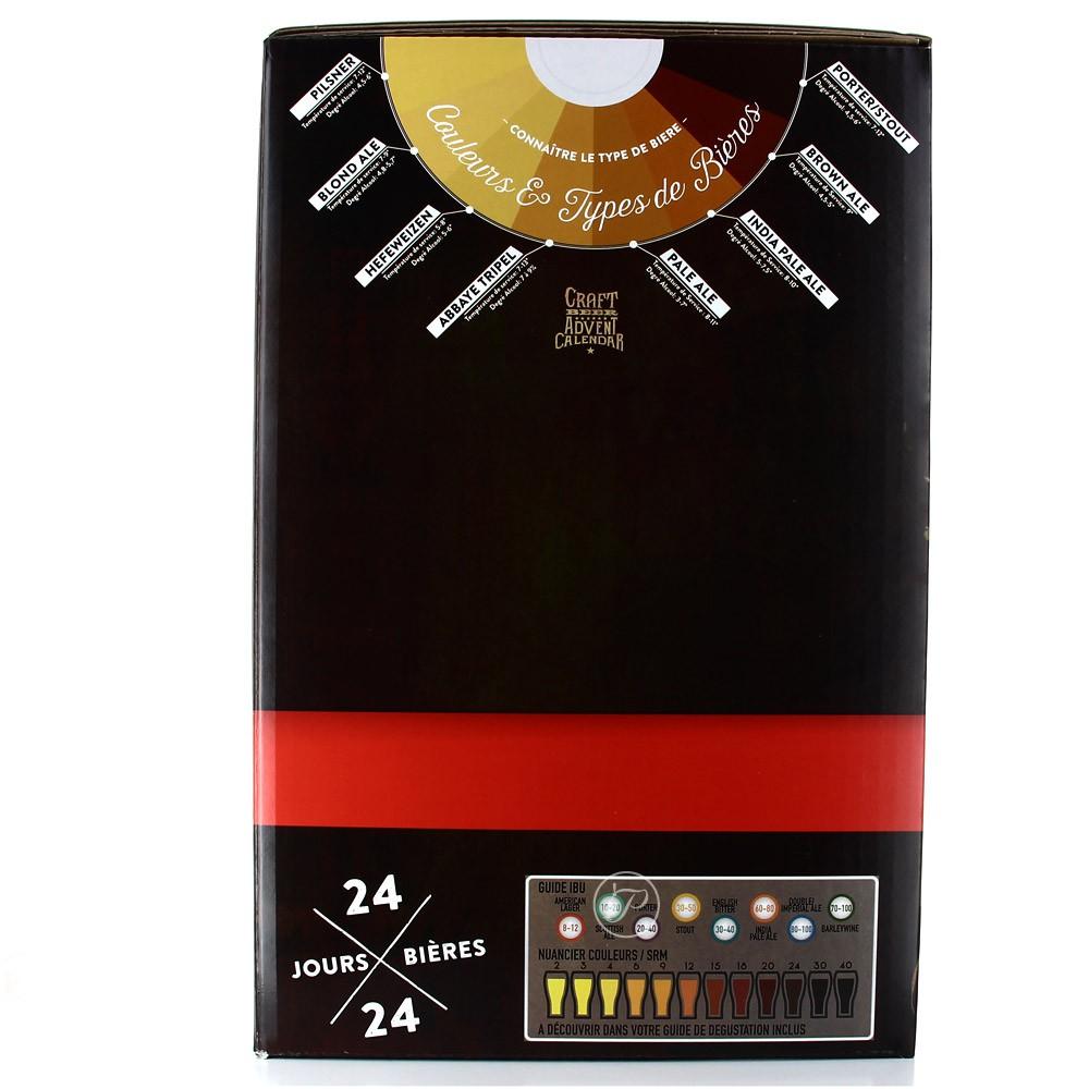 Calendrier de l 39 avent bieres du monde 24x33cl - Calendrier de l avent biere carrefour ...