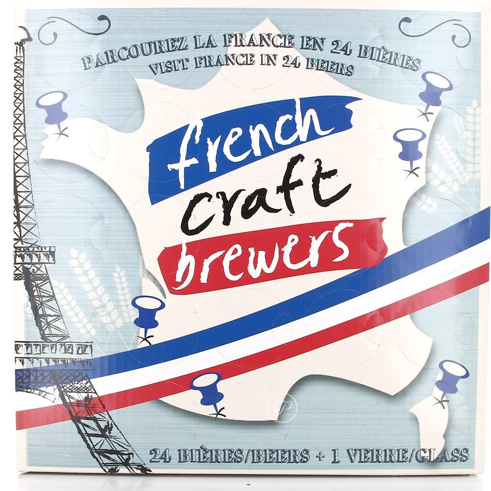 Calendrier de l 39 avent des bi res artisanales fran aises calenbi re de l 39 avent - Calendrier de l avent biere carrefour ...