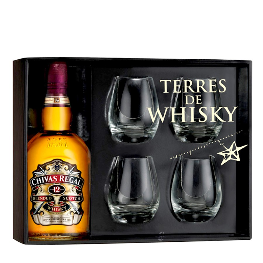 coffret whisky chivas. Black Bedroom Furniture Sets. Home Design Ideas