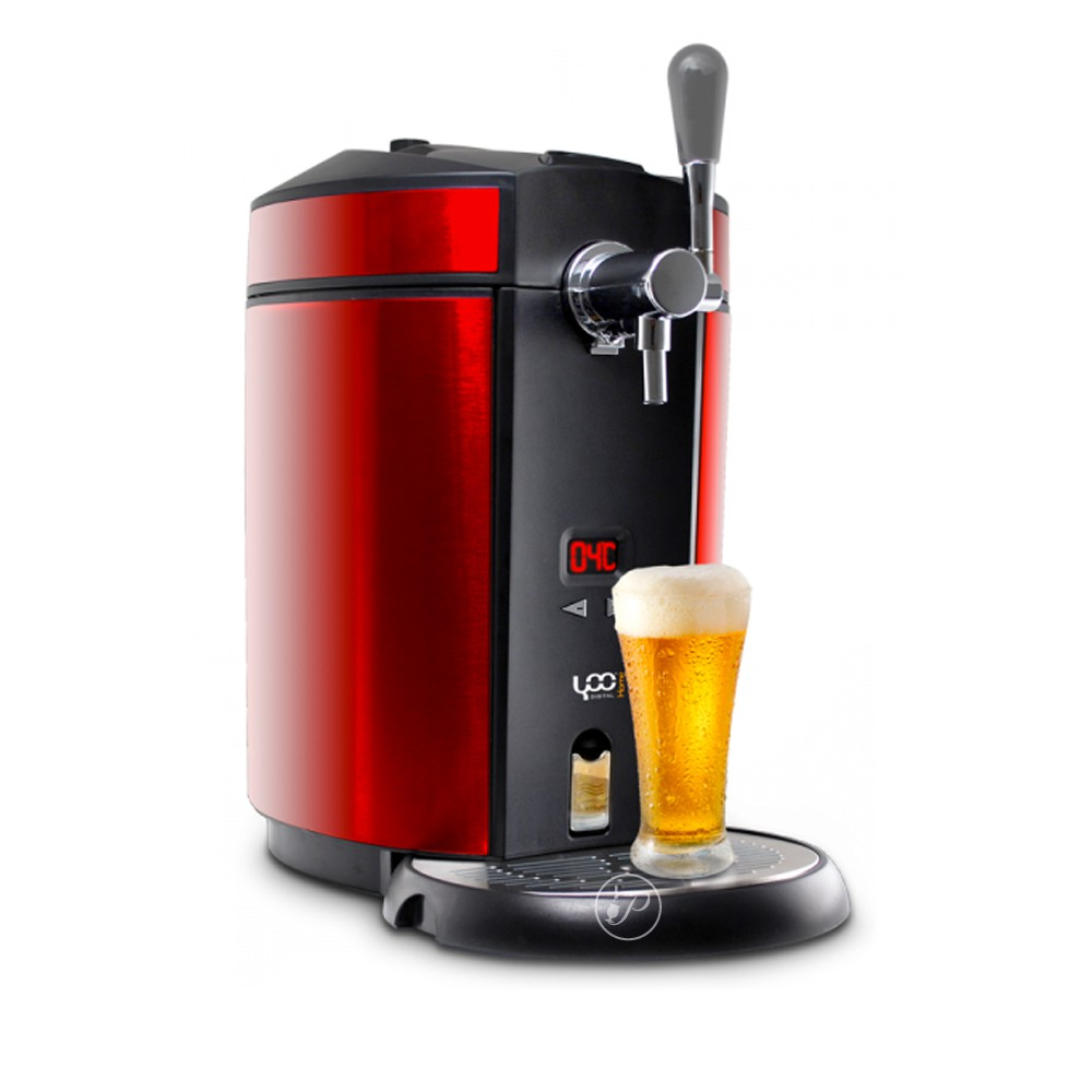 pompe bi re beer draft rouge achat vente de tireuse bi re 5 litres. Black Bedroom Furniture Sets. Home Design Ideas