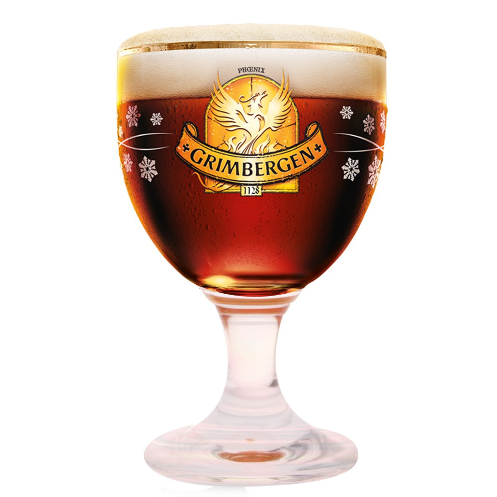verre a biere grimbergen edition no l 25 cl. Black Bedroom Furniture Sets. Home Design Ideas