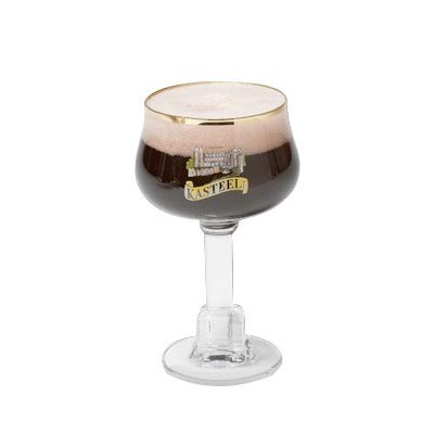 verre a biere kasteel beer. Black Bedroom Furniture Sets. Home Design Ideas