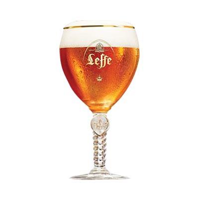Verre à bière & à pied de chez Leffe