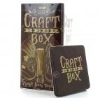 Coffret métal Biere box artisanale - Craft Beer