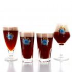 Lot 4 verres Mort Subite