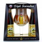Coffret Tripel Karmeliet - 4 bouteilles 33cl + 1 verre