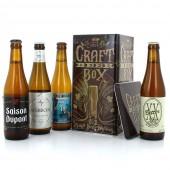 Sélection de bières Belges- 4 bouteilles 33cl et un coffret métal