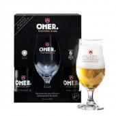 Coffret de bières Omer 4 X 33cl + 1 verre (Coffret de bière)
